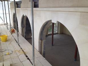 Archways dressed down in situation.